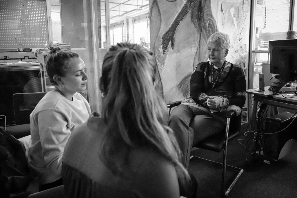 Interview im ORF Zentrum